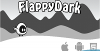 Dark flappy html5 game