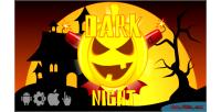 Dark night html5 halloween game construct2 ads cocoon capx