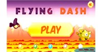 Dash flying html5 game