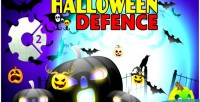 Defence halloween html5 game