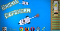 Defender bridge html5 game