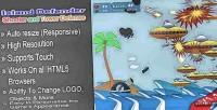 Defender island html5 game