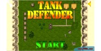 Defender tank game mobile html5