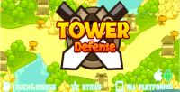 Defense tower game mobile html5