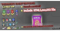 Defense tower html5 game
