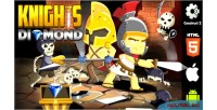 Diamond knights html5 capx game