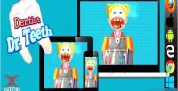 Doctor dentist game html5 teeth