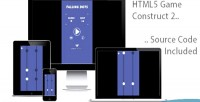 Dots falling html5 game 2 construct