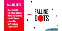 Dots falling html5 game version mobile construct capx 2