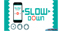Down slow html5 admob game addictive