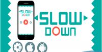Down slow html5 admob game addictive