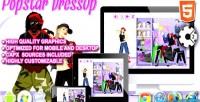 Dress popstar up game html5 construct