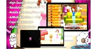 Dress up html5 game mobile vesion admob construct capx 2 dress