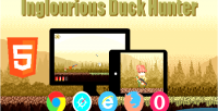 Duck inglourious hunter game html5