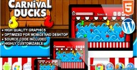 Ducks carnival game shooting html5