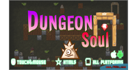 Dungeon soul html5 mobile capx game
