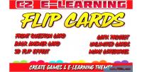 E c2 cards flip learning
