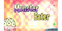 Eater monster game mobile html5