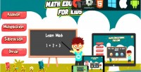 Education math for kids educational html5 capx game