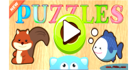 Educational puzzles children admob game s