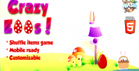 Eggs crazy game items shuffle