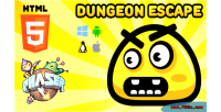 Escape dungeon phaser game html5