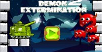 Extermination demon 2 html5 ios android touch capx