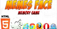 Face memes memory optimized mobile game