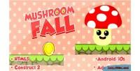 Fall mushroom html5 game