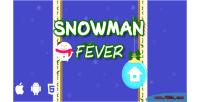 Fever snowman html5 game