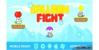 Fight balloon game mobile html5