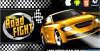 Fight road html5 capx game