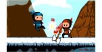 Fighting 2d platformer capx engine game