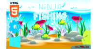 Fishing ninja html5 game