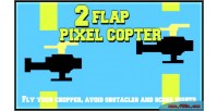Flap 2 pixel copters