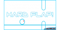 Flap hard html5 game
