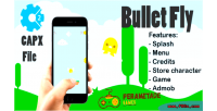 Fly bullet html5 capx game 2 construct
