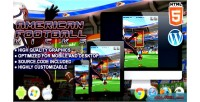 Football american kicks game sport html5
