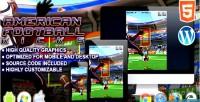 Football american kicks game sport html5