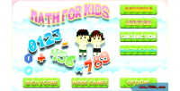 For math kids game html5 educational kids