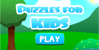 For puzzle kids game educational html5