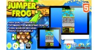 Frog jumper html5 game