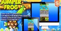 Frog jumper html5 game