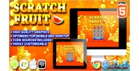 Fruit scratch game casino html5