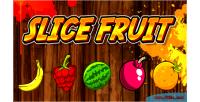Fruit slice html5 capx game