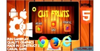 Fruits cut