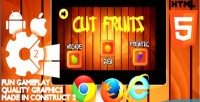 Fruits cut