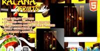 Fruits katana html5 game
