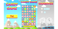Game candy game casual html5