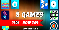 Games bundle 2 8 html5 games included capx games